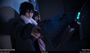 Psycho-Pass Enforcer by spooky-epiic
