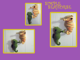Simple Seahorse by black-moon-flower