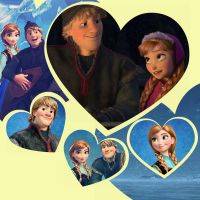 Kristoff and Anna from Disneys 'Frozen' by DenaTook