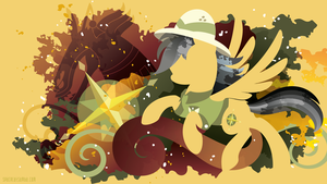 Daring Do Silhouette Wall by SambaNeko