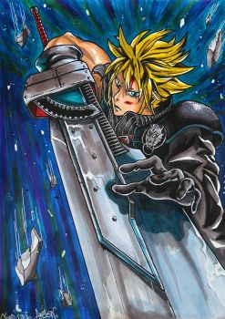 Cloud Strife by artsn