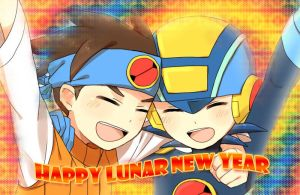 Happy Lunar New Year Rockman! by nhinhonhinho