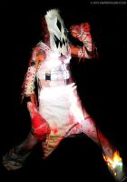 Skull Masked - Colour by gdpgigs