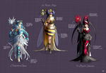 Empress, Queen and Majesty by MlleMalice