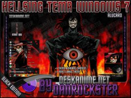 Alucard Theme Windows 7 by Danrockster