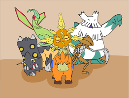 Team 2 by Dunsparce-is-best