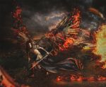 Flames of the Wicked by Majentta
