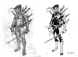 Xsol pencils and inks by pencilmyfriend