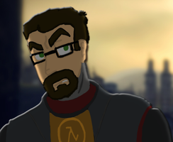 Gordon Freeman by SpiderGman