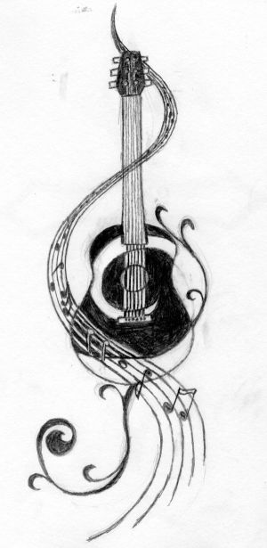 guitar tattoo ideas