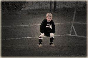tired goalie by brijome