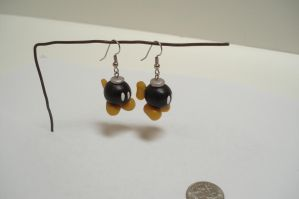 Bobomb earrings by ArtNinja101