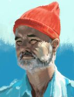 bill murray by 0-Banana-0