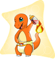 Gotta Change'em All: Charmander! by DLTOArt