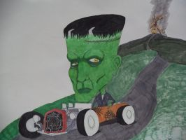 Ed rothy Frankenstein by meb1982