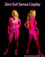 Pink Zero Suit by lampylampy