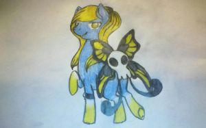 Butterskull pony contest entry (I didn't win...) by LobsterPolice