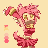 Colour Palette / Amy Rose by RebeStar