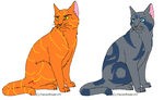 2 Adoptables by skyclan199