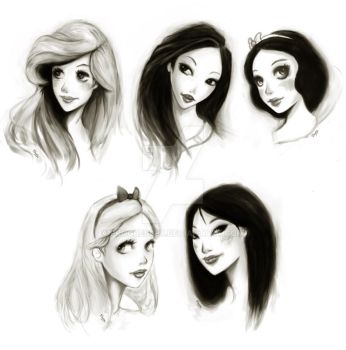 Old Disney movie stars by Progress87