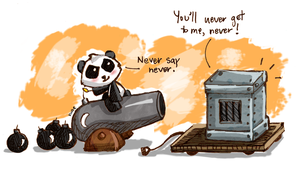 never say never by blastedgoose