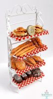 1:12 Bakers Rack with Bread by Bon-AppetEats