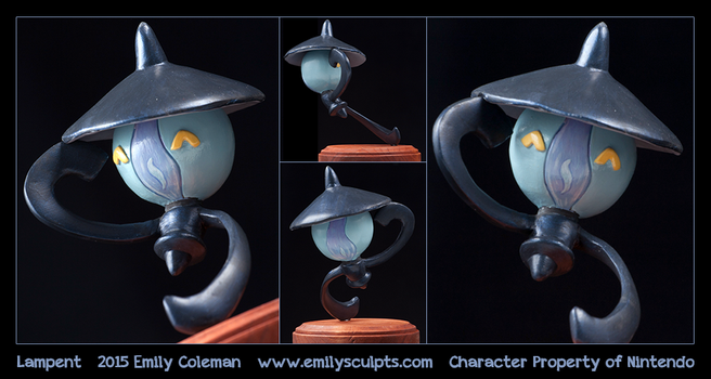 Commission : Lampent by emilySculpts
