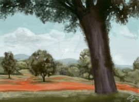 Landscape by chareD