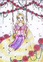 Rapunzel color by chibinia
