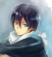 Yato Speedpaint by h-yde