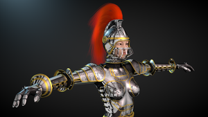 Woman warrior 2014 by Valadj