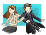 So you two are like, The Mystery Twins by animegirl43