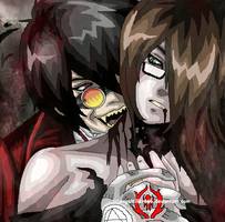 He likes demon Blood? by AngelKiller666