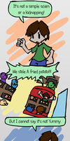 Stealing a fried potato by Mythical-Human
