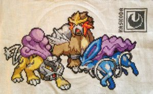Legendaries of Crystal Cross-Stitch by Kaskoda