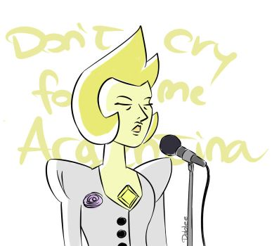 Don't cry for me Argentina by Dablee