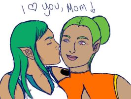 I Love You, Mom... by AJD2348