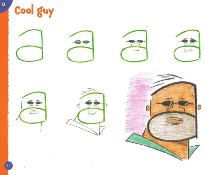 DRAWING CARTOONS FROM LETTERS - COOL GUY by Christopher-Hart
