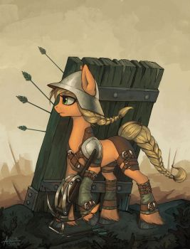 Siege Applejack by Asimos