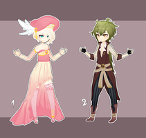 AUCTION [Close]- Adoptables Fantasy/Pirate Theme by Mylla-Peppers23