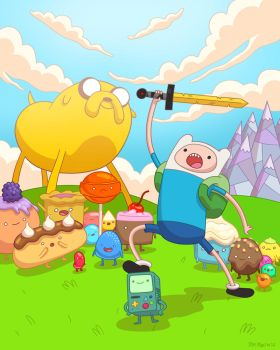 Adventure Time by TomMartinArt
