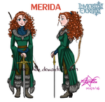 Merida -INVIERNO ETERNO- by Denisse-chan