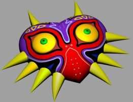 Majora's Mask by skaploony