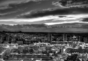 Atardecer Madrid 2 HDR by langusmaiden