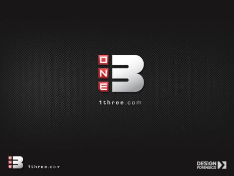 1 Three Logo by DESIGN-FORENSICS