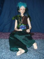 Bjd Outfit: Earth Fairy by silverbeam