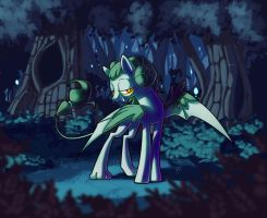 Creature from Everfree Forest by KetrinDarkDragon