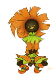 Impril #2: Skull Kid by aftertaster7
