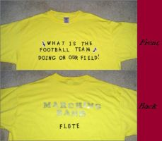 Marching Band Shirt by tots-on-fire