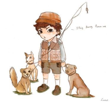 Will fisherboy by windmill-cure